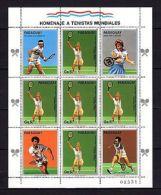 Paraguay 1986 Sport Tennis P.2 MNH - Jeux Olympiques