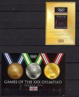 Tuvalu 2012 Sport Olympics London MNH -(G-6) - Jeux Olympiques
