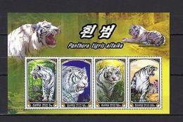 Korea 2005 Animals Tiger MNH --(cv 5.50) - Timbres