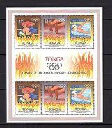 Tonga 2012 Sport Olympics London MNH --(cv 17) - Jeux Olympiques