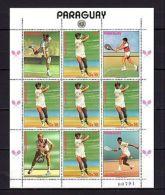 Paraguay 1986 Sport Tennis P.1 MNH - Olympische Spelen