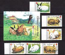 Somalia 1999 Rabbits CTO - Timbres
