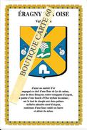 95- ERAGNY SUR OISE  - BLASON- ECUSSON- HERADIQUE - Eragny