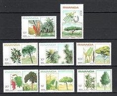 Rwanda 1984 Flora Trees MNH - Non Classés