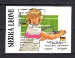 Sierra Leone 1987 Wimbledon Tennis Champions MNH - Tennis