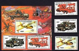 Djibouti 1984 Transport  Cars Planes Fire Fighting MNH --(cv 30 ) (T-6) - Sin Clasificación