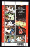 Belgia 2005 Sport Judo MNH Mi.3455-60 - Jeux Olympiques