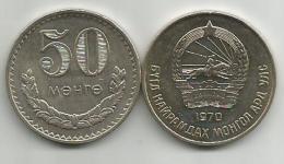 Mongolia 50 Menge (mongo) 1970. UNC - Mongolia