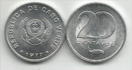 Cape Verde Cabo Verde 20 Centavos 1977. UNC - Cap Vert