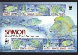 Samoa 2006 Marine Life WWF Fish MNH Mi.1034-37 Klb. - Meereswelt