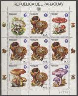 Paraguay Mushrooms Champignons MNH - Champignons