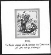 "Austria/Autriche: Prova Per La Stampa, Proof For Printing, épreuve Pour L'impression, ""Die Heilige Notburga"" - Fiabe, Racconti Popolari & Leggende"