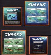 Micronesia 2015 Marine Life Sharks MNH - Marine Life