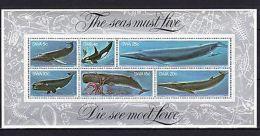 SWA 1980 Marine Life MNH Mi.Bl.5 - Marine Life