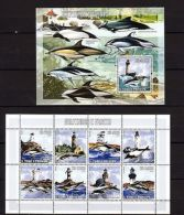 S.Tome & Principe 2006 Marine Life Dolphins Lighthouses MNH Mi.3066-71 Bl.599 - Marine Life