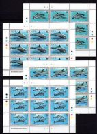Niue 1993 WWF Marine Life Dolphins Wales --(cv 144) - Marine Life