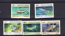 Mauritania 1986-1987 Fish Marine Life MNH Mi.899-900 920 --(cv $12) - Marine Life