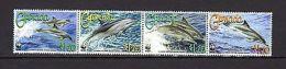 Grenada 2007 Marine Life WWF Dolphins MNH Mi.5925-28 - Marine Life