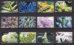 Tuvalu 2006 Corals Marine Life  MNH Mi.1291-02 --(cv 25) - Marine Life