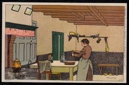 """Illustrateur Amédée Lynen Collection """" De - Ci De - Là """" à Bruxelles Et En Brabant N° 9 - Pas Courant ! - Lynen, Amédée-Ernest"""