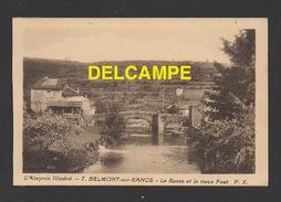 DF / 12 AVEYRON / BELMONT SUR RANCE / LA RANCE ET LE VIEUX PONT - Francia