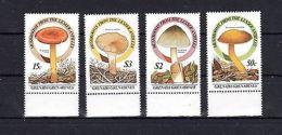 Grenada 1986 Mushrooms Flora MNH Mi.771-74 --(cv 17) - Végétaux