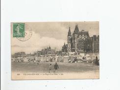 VILLERS SUR MER 104 LA PLAGE ET LES VILLAS 1923 - Villers Sur Mer