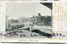 - BOURDEAUX -  ( Drôme ) - Vue Générale, Précurseur, Rare, écrite En 1902, Pour Saillans, TBE, Scans.. - Frankreich