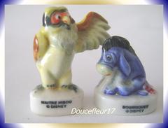Winnie De 1996 ... Lot De 2 Fèves ... Ref : AFF : 56-1996...(pan 0030) - Disney