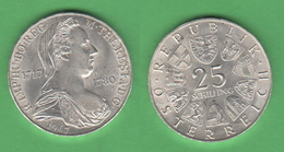 25 Schilling 1967 Maria Theresia Austria Österreich - Autriche