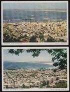 2 X HAIFA ISRAEL - Mount Carmel & Harbour - Israel