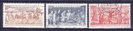 Tchécoslovaquie 1954 Mi 878-80 (Yv 779-81), Obliteré