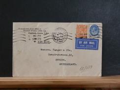 68/689  LETTRE   G.B.  TO  SWITZERLAND   1929 - 1902-1951 (Rois)