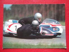 """MOTOS -  SIDECAR - """" K. ENDERS """" -  ALLEMAND - - Motorbikes"""