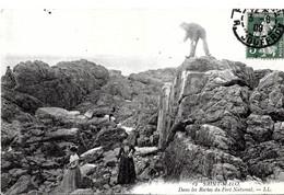 Saint Malo. Dans Les Roches Du Fort National. - Saint Malo