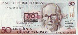 Banco Central Do Brasil 50 Cruzeiros, Banconota F. Di S. - Brazil