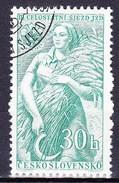 Tchécoslovaquie 1957 Mi 1008 (Yv 895), Obliteré