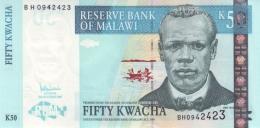 MALAWI 50 KWACHA 2007 P-53c UNC  [ MW144e ] - Malawi