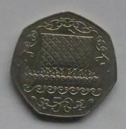 Monnaie Ile De Man Isle Of Man 50 Pence 1980 Et 1982 Bateau Viking Ship - Altri