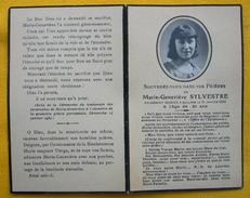 IMAGE PIEUSE - Faire-part De Décès Marie-Genevieve SYLVESTRE Le 21 Janvier 1934 à MOLLANS - Images Religieuses