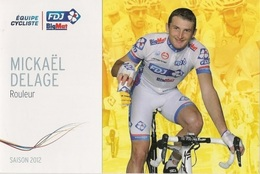 Mickael Delage - FDJ Big Mat - 2012 - Wielrennen