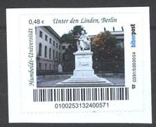 Biber Post Humboldt Uni Unter Den Linden, Berlin (48) Gezähnt Neues Logo  G305 - Privados & Locales