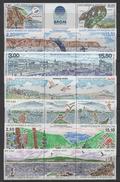 SAINT PIERRE & MIQUELON / 1986-1999 COMPLET ** SOUS FACIALE / 9 IMAGES (ref 6367) - Collections, Lots & Séries