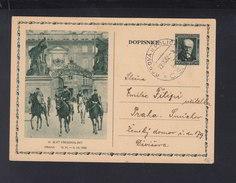 Czechoslovakia Stationery 1932 IX. Slet