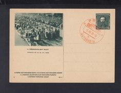 Czechoslovakia Stationery 1938 X. Slet (2)