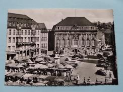 Marktplatz ( Spatz )  Anno 19?? ( Zie Foto Details ) !! - Bonn