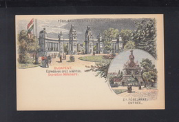 Hungary Stationery Exposition Millenaire Unused(2) - Ganzsachen