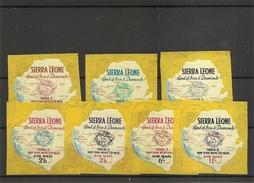 SierraLeone- Exposition De New-York -1964 ( PA 13/19 XXX -MNH) - Sierra Leona (1961-...)