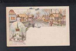 Hungary Stationery Exposition Millenaire Unused(4) - Interi Postali