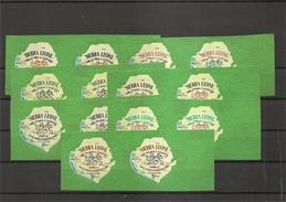 SierraLeone- Exposition De New-York -1964 ( 243/249 En Paires Horizontales XXX -MNH) - Sierra Leone (1961-...)
